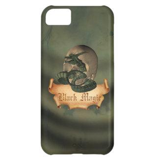 Black Magic Skull Case For iPhone 5C