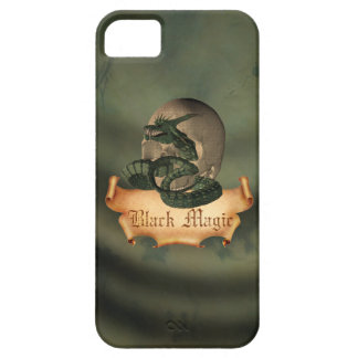 Black Magic Skull iPhone SE/5/5s Case