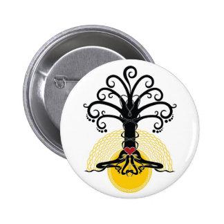 Black magic tree button