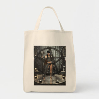 Black Magic Witch Tote Bags