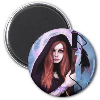 Black Magic Woman Magnet