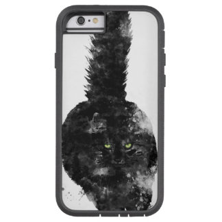 BLACK MAINE COON CAT - TOUGH XTREME iPhone 6 CASE
