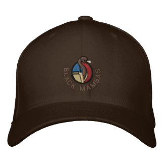 Black Mambas Hat Embroidered Hat