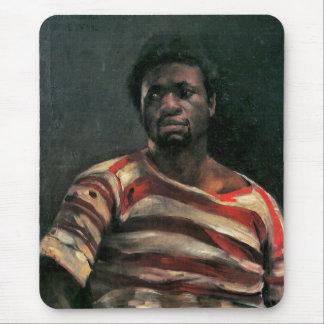 Black man portrait Othello painting Lovis Corinth Mouse Pad
