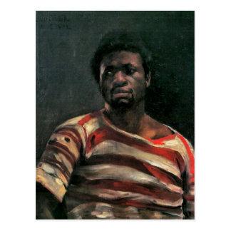 Black man portrait Othello painting Lovis Corinth Post Cards
