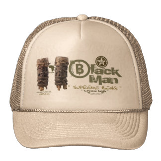 Black man Supreme image Trucker Hat