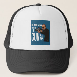 black man with a gun podcast trucker hat