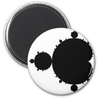 Black Mandelbrot Magnet