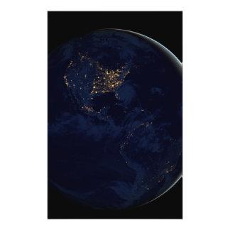 Black Marble, Blue Marble Americas Flyer