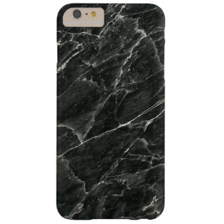 Black Marble Barely There iPhone 6 Plus Case