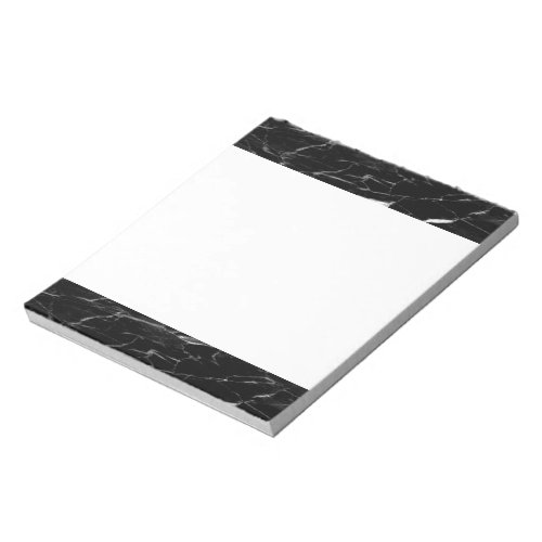 Black Marble Color Notepad