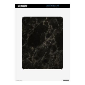 Black Marble Decal For iPad