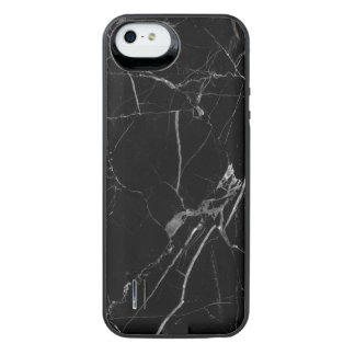 Black Marble iPhone SE 5/5s Power Battery Case