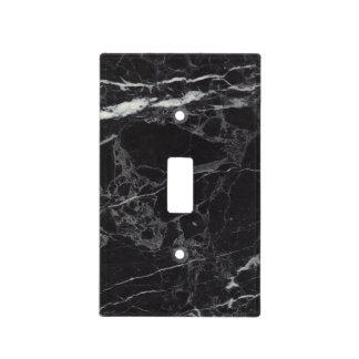 Black Marble Light Switch