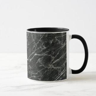 Black Marble Mug