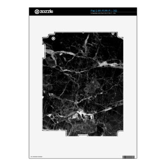 Black marble skins for the iPad 2