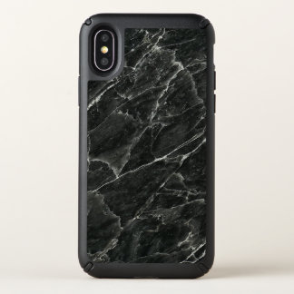 Black Marble Speck iPhone X Case