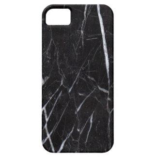 Black Marble Stone Grain Texture iPhone 5 Case