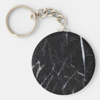 Black Marble Stone Grain/Texture Key Chains