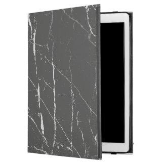 Black Marble Stone Pattern iPad Pro Case