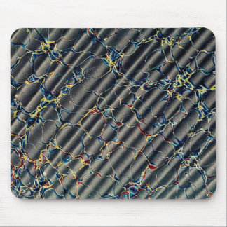 Black Marbled Paper Pattern Mouse Pad