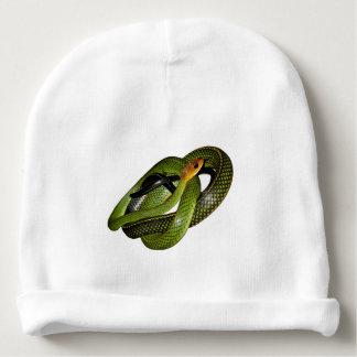Black-margined Ratsnake or Green rat snake Baby Beanie