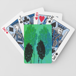Black Marigolds Bicycle Playing Cards