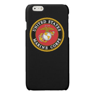 Black Marine Corps Phone Case