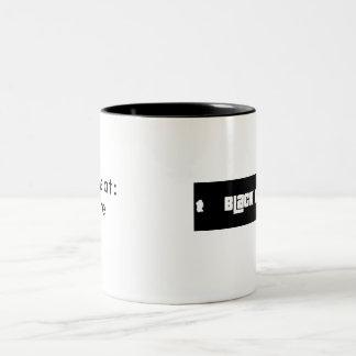 Black Market Brews Two-Tone Coffee Mug