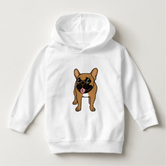 Black Mask Fawn French Bulldog is ready to play Hoodie