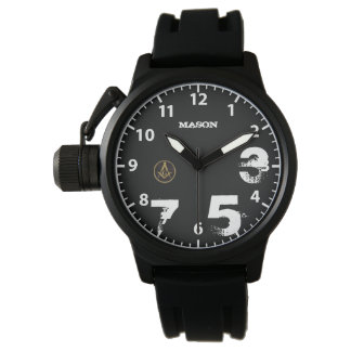bLACK mASON WATCH DEsIGN By Joe Grange