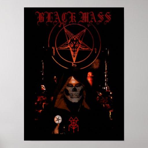 Black Mass Print