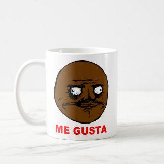 Black Me Gusta Rage Face Meme Coffee Mug