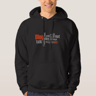 Black Men's BlogathonATX Hoodie