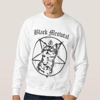 Black Meowtal Sweatshirt