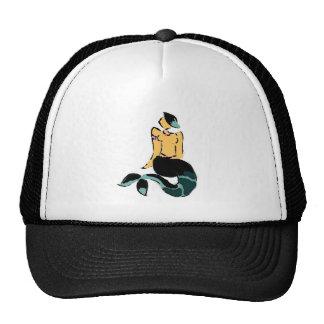 black mermaid hat