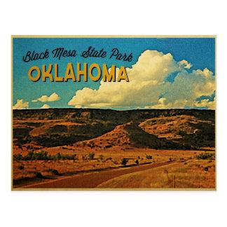Black Mesa Oklahoma Postcard