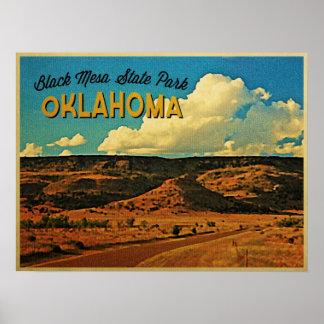 Black Mesa Oklahoma Print