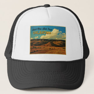 Black Mesa Oklahoma Trucker Hat