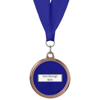 Black Mesh White Balls Moire(T) by Kenneth Yoncich Medal