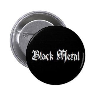 BLACK METAL 2 INCH ROUND BUTTON