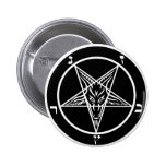 black metal, baphomet, lord of darkness! button