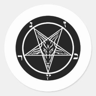 black metal, baphomet, lord of darkness! stickers