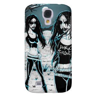 Black Metal Chicks Samsung Galaxy S4 Case