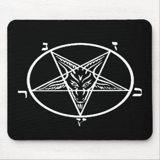 Black metal evil mousepad SATAN!!