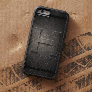 Black Metal H Monogram - Iphone Case