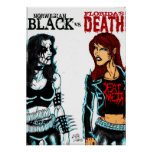 Black Metal Vs. Death Metal Poster