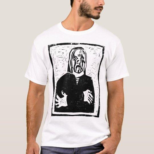 Black Metal zombie Woodcut shirt