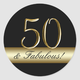 gold 50th birthday gifts on zazzle