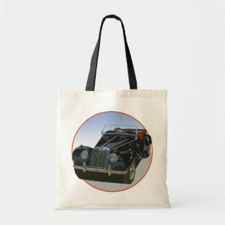 Black MG TF Canvas Bag